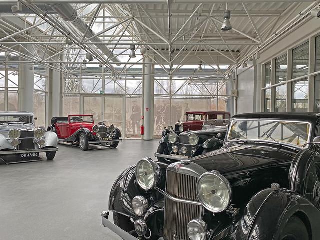Central Garage, Alvis Exhibition, 2021