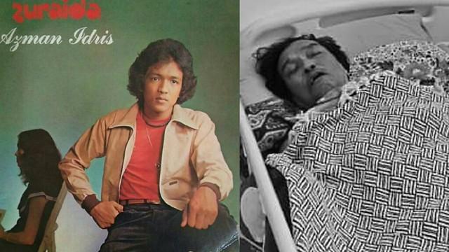 Penyanyi Zaman 80-An, Azman Idris Meninggal Dunia