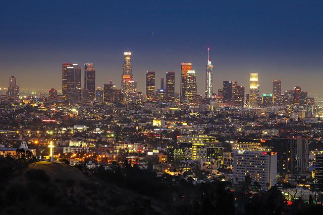 Los Angeles Skyline at twilight!