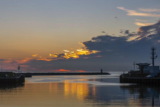 Sunset - Scheveningen Haven - NL