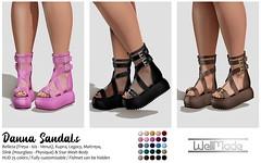 [WellMade] Danna Sandals