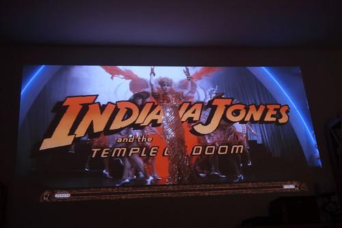 """Titelbild des Films """"Indiana Jones und der Tempel des Todes"""""""