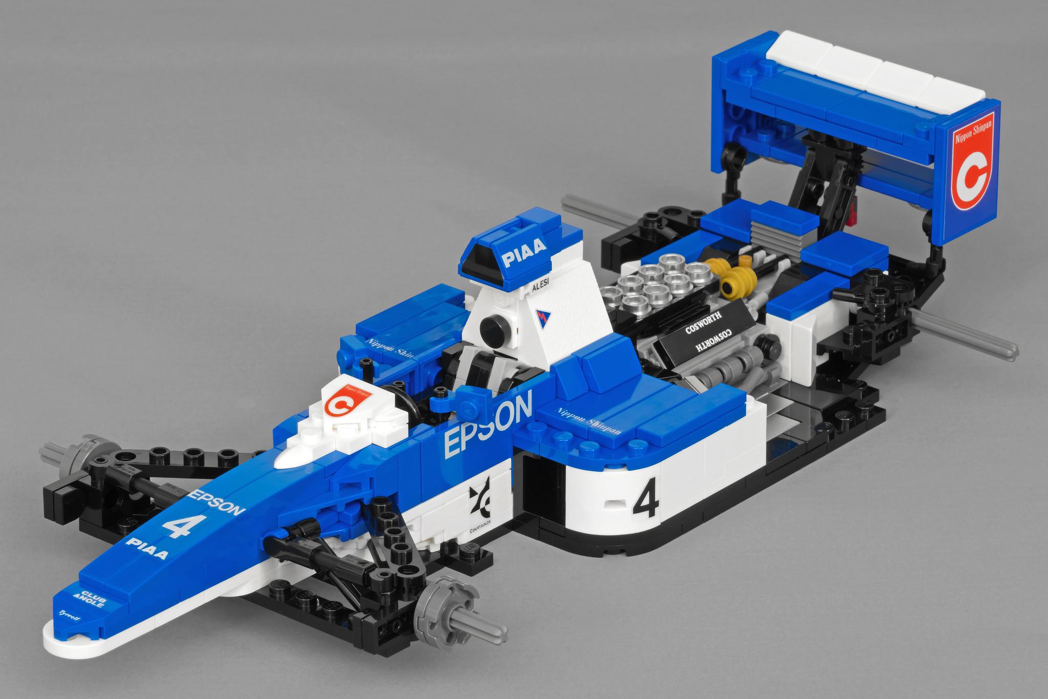 LEGO® Tyrrell 019 (1/15 scale)_05