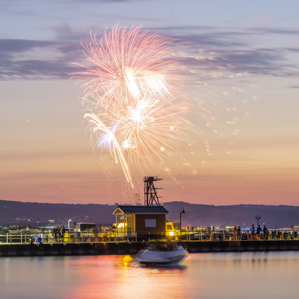 Fireworks Pier View