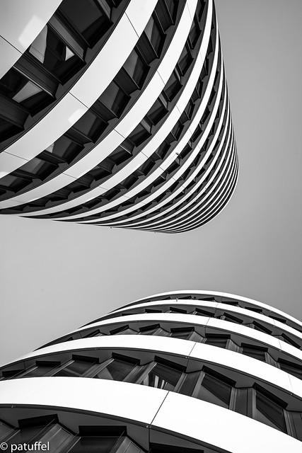 Towers leading upwards