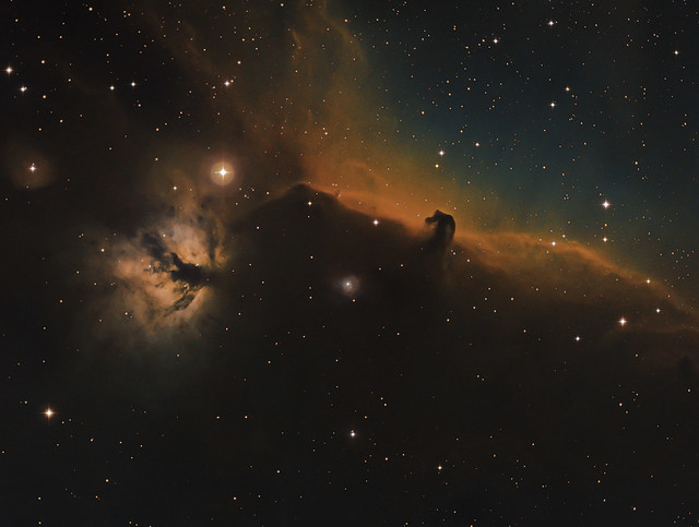 Horse and Flame Nebula