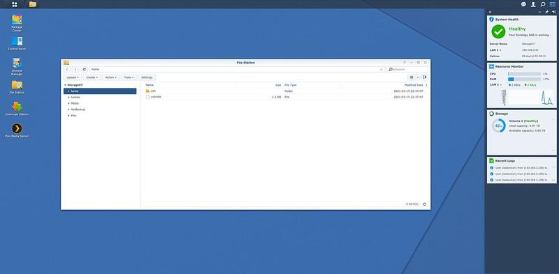 DSM 6.2.4 - File Station