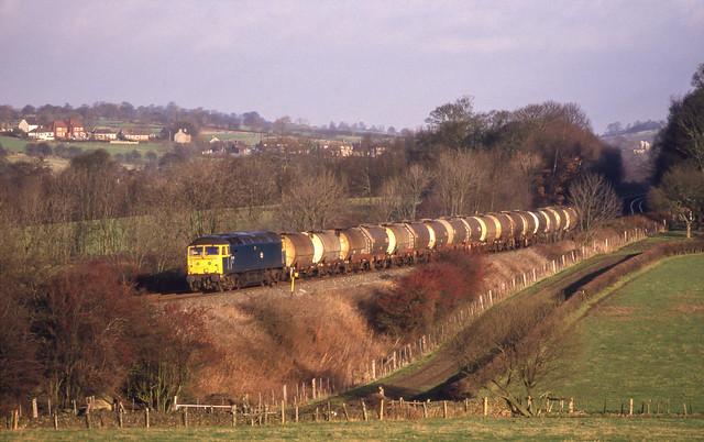 47201 At South Wingfield. 31/12/1987.