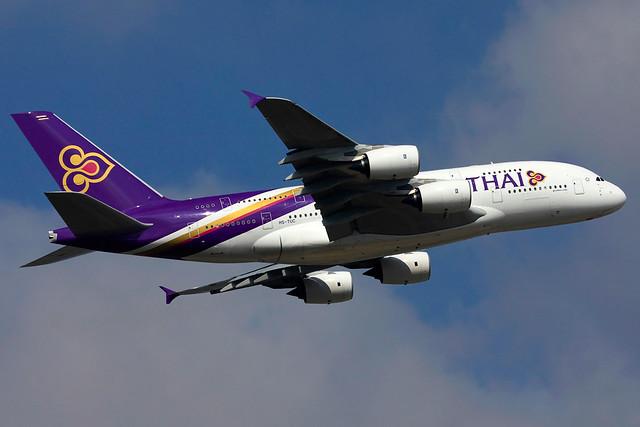 HS-TUC | Thai Airways International | Airbus A380-841 | Paris CDG [LFPG]
