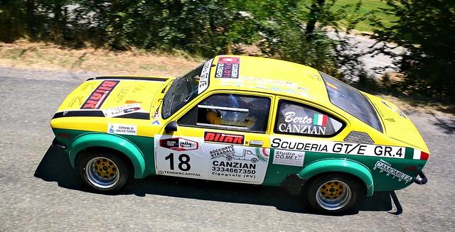 18 Canzian Alberto ITA Canzian Alberto ITA Guglieri Debora ITA Opel Kadett GTE 2 4 GTS fino 2000 Errerossa ASD
