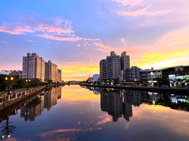 The Sunset in Anping