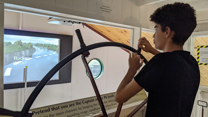 Navigating the (virtual) Murray river