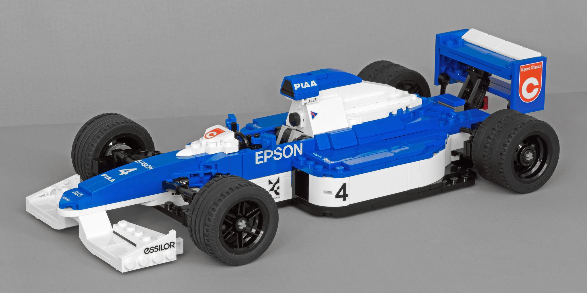 LEGO® Tyrrell 019 (1/15 scale)_01