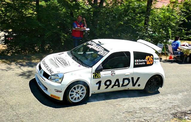 126 Barberis Mattia Giordano ITA Barberis Mattia Giordano ITA Imerito Riccardo ITA Renault Clio 1.6 S1600 BS Sport