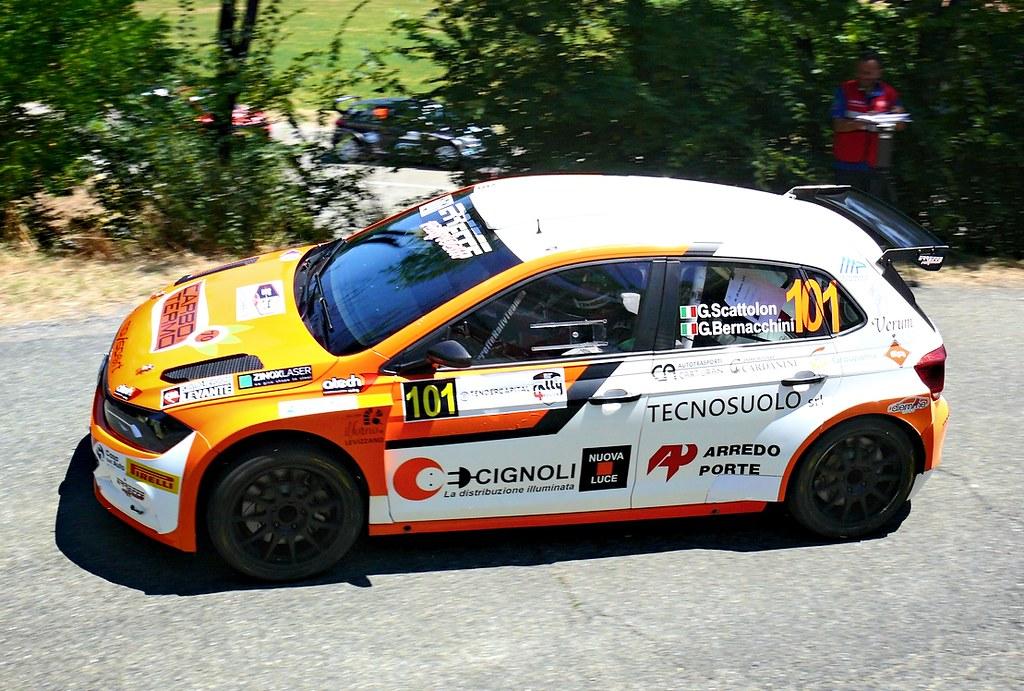 101 Scattolon Giacomo ITA Scattolon Giacomo ITA Bernacchini Giovanni ITA Volkswagen Polo R5 Movisport Erreffe Rally Team