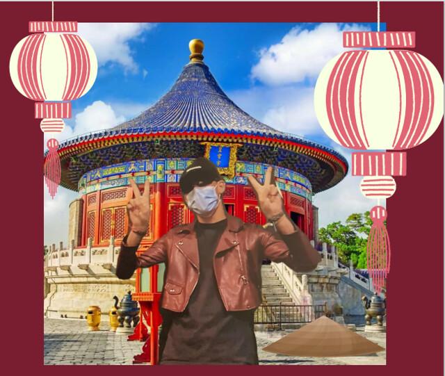 """""""Mi aventura china"""" premio al mejor cartel en el XXXV certamen de Teatro"""