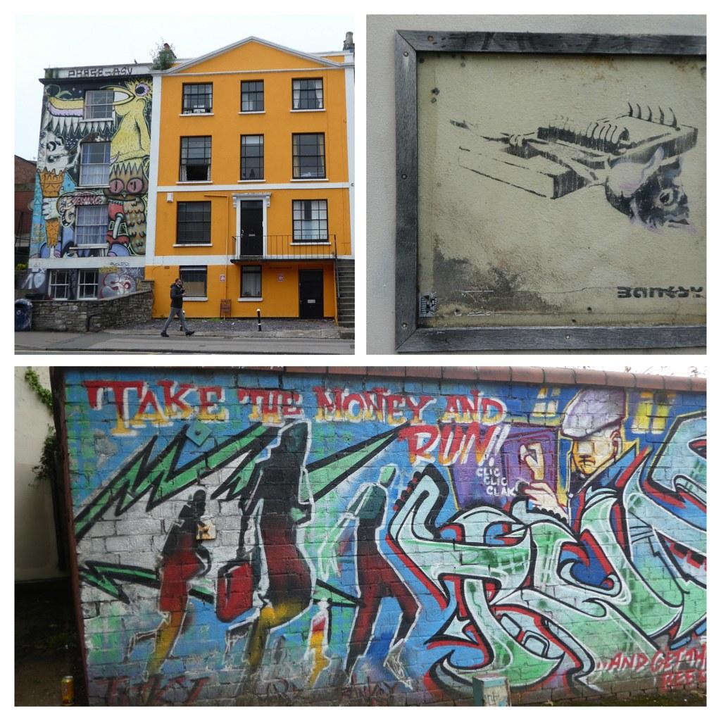 Banksy Street Art, Bristol