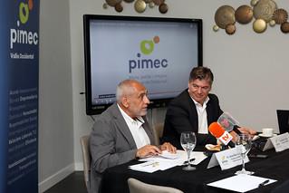 Antoni Cañete i Josep Maria Catalán es reuneixen amb els col·lectius de diferents sectors i amb representants d'entitats i administracions locals del Vallès Occidental