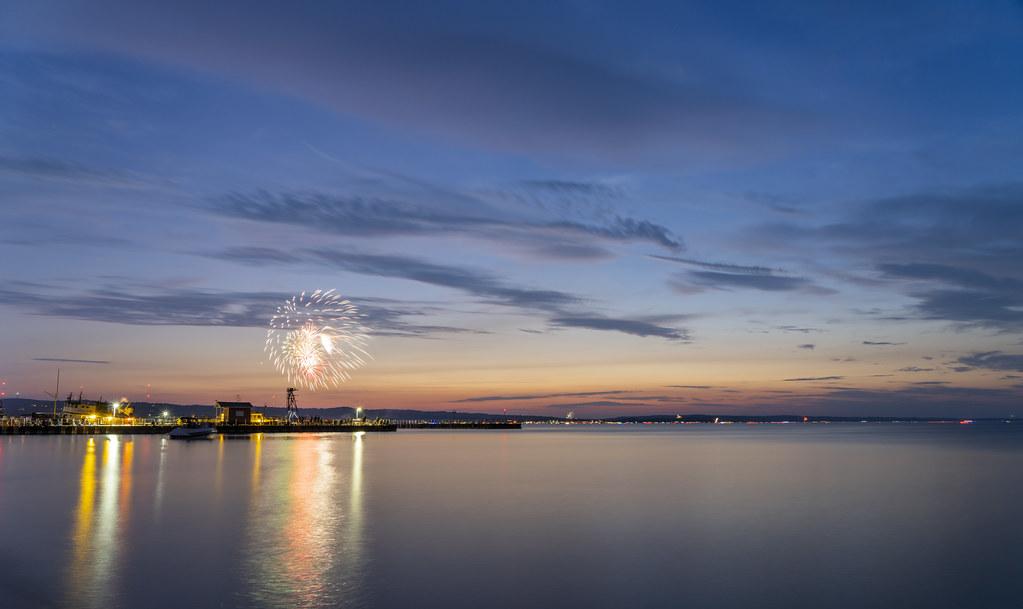 Fireworks Beneath the Arc of Heaven