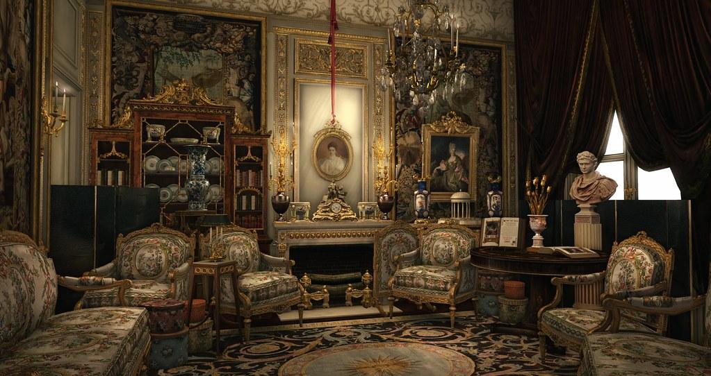 Le salon de lecture by [Humburg]