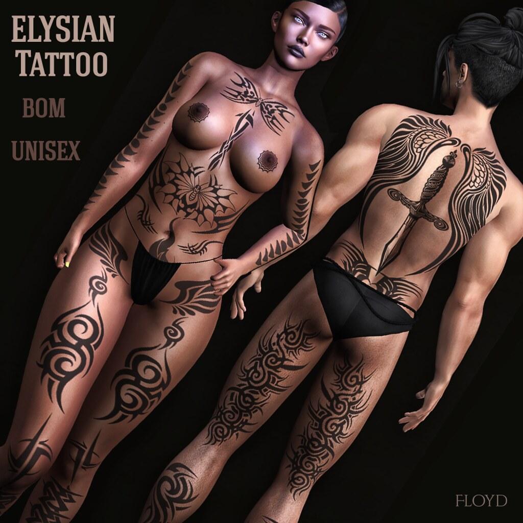 Elysian Unisex Tattoo