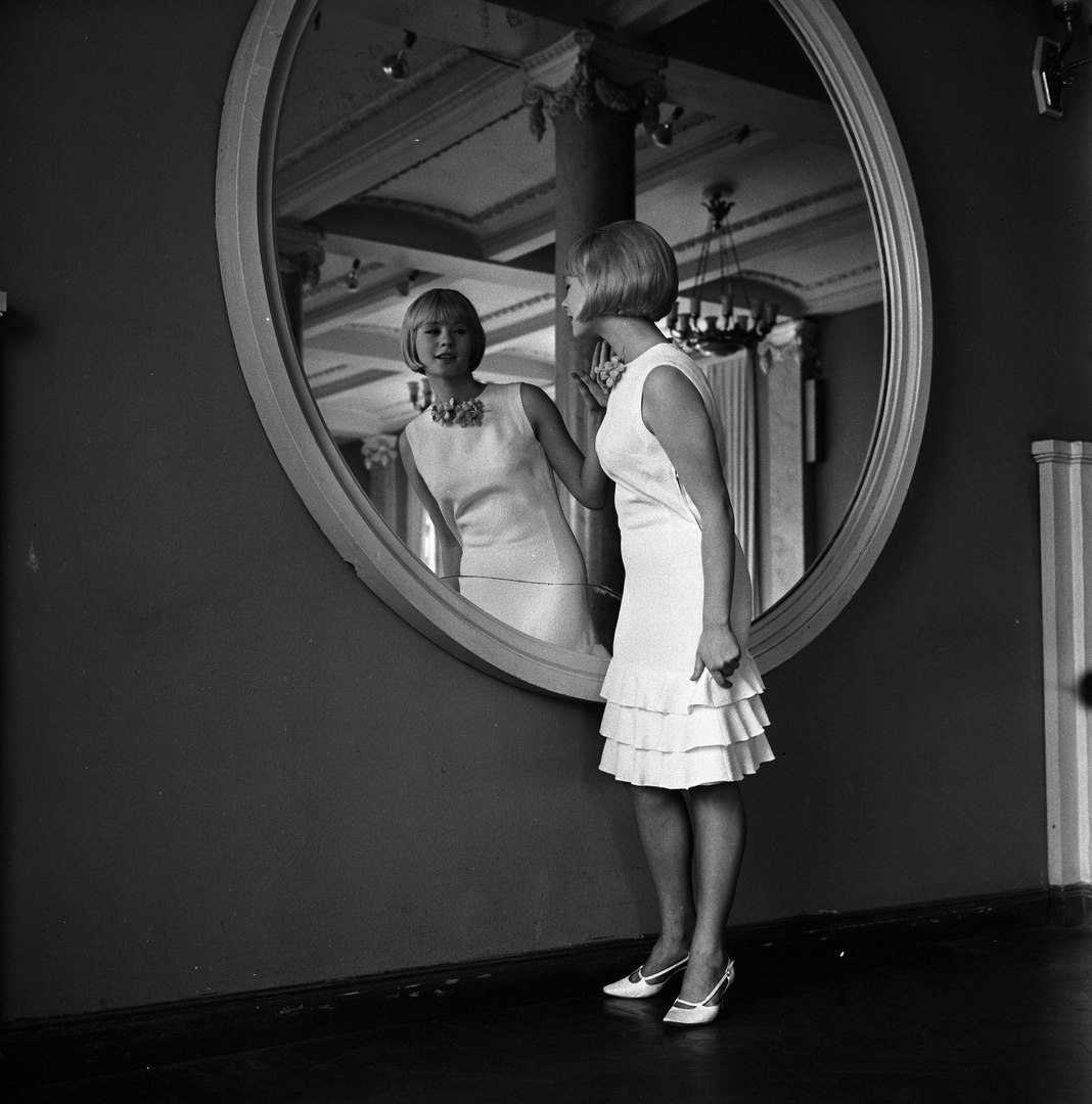 1966. Платье для выпускного бала от Общесоюзного дома моделей