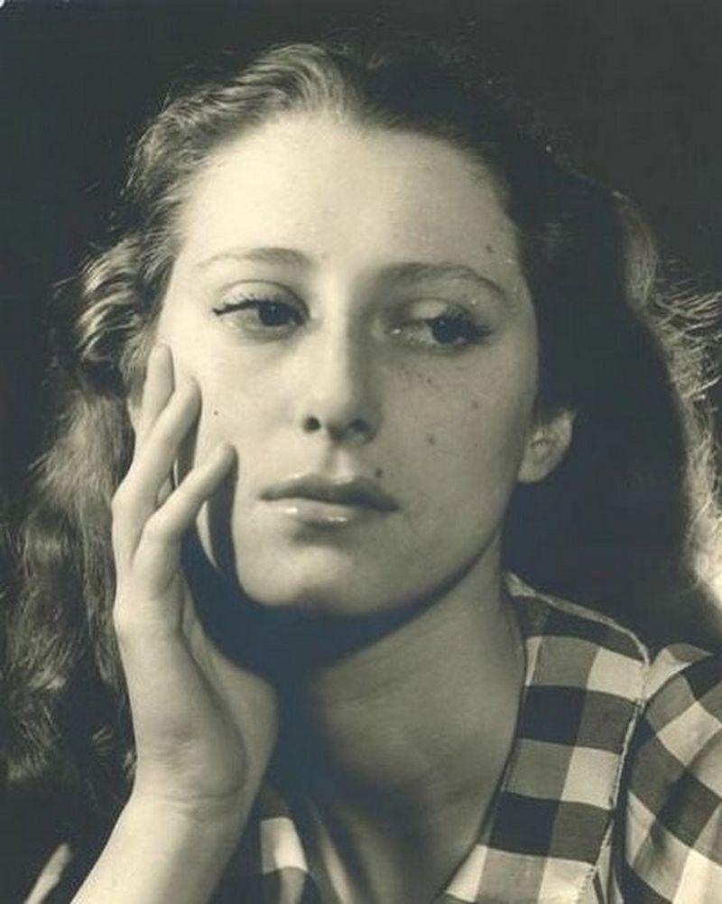 1950-е. Портрет Майи Плисецкой