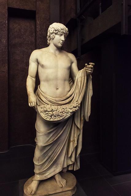 Antinous as Agathos Daimon - II