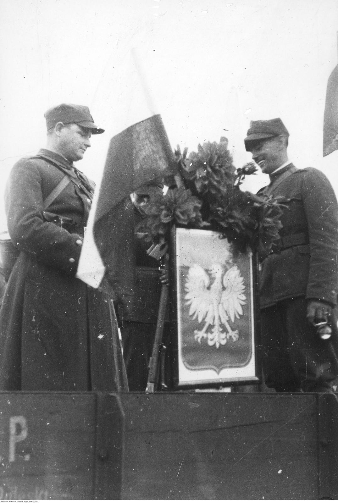 01. 1 октября. Польская армия захватывает железнодорожный вокзал в Чески-Тешине