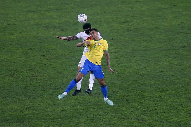 Brasil x Peru - Semifinal da Copa América 2021 no Estádio Nilton Santos