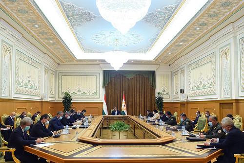 Ҷаласаи Шӯрои амнияти Ҷумҳурии Тоҷикистон  05.07.2021