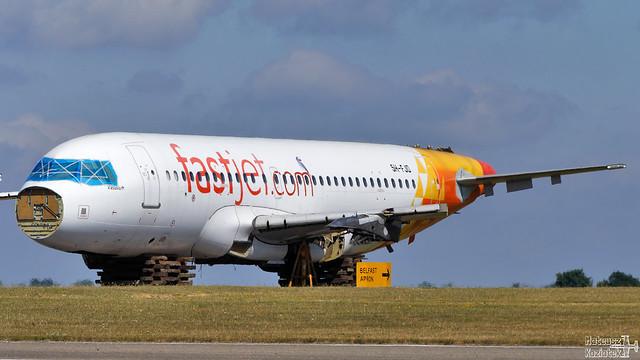 fastjet 🇹🇿 Airbus A319-100 5H-FJD