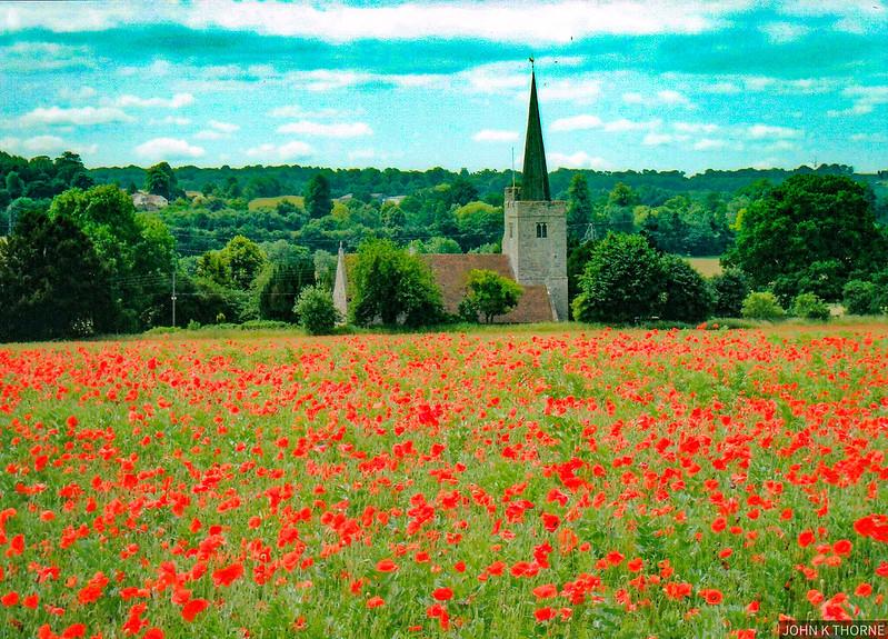 Church in The Poppy Fields