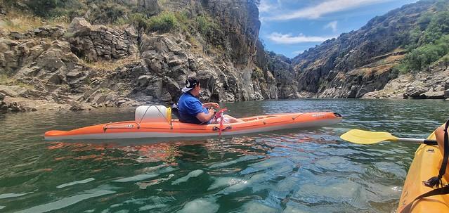 En kayak por el cañón del Lozoya (Desde Cervera de Buitrago hasta la presa de El Villar)