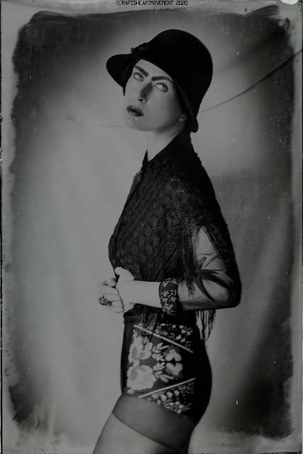 PRELUDE: a 52 Week Self-portrait Project│ Self-portrait In a Hat (37/52)