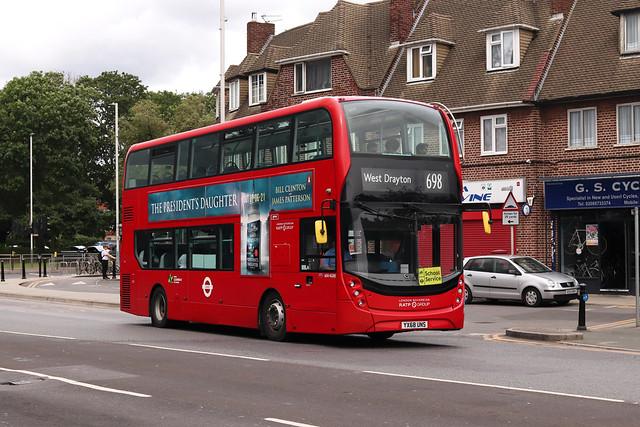 Route 698, London Sovereign, ADH45285, YX68UNS