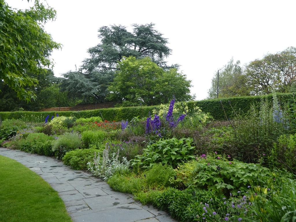 Herbaceous borders at Bristol Zoo