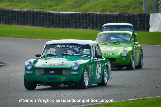 MG Midget Philip Stader CSCC Swinging Sixties Retired broken gearbox 15th 2020