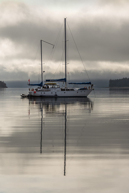 Tranquil anchorage