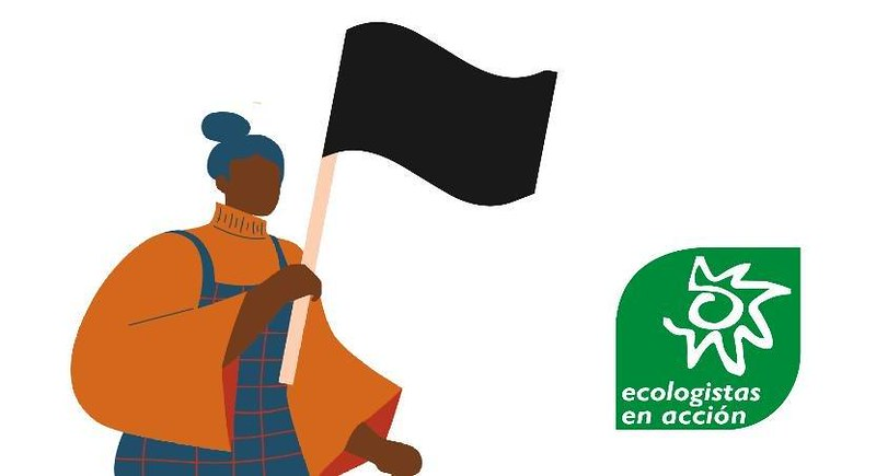 Banderas negras Ekologistak martxan