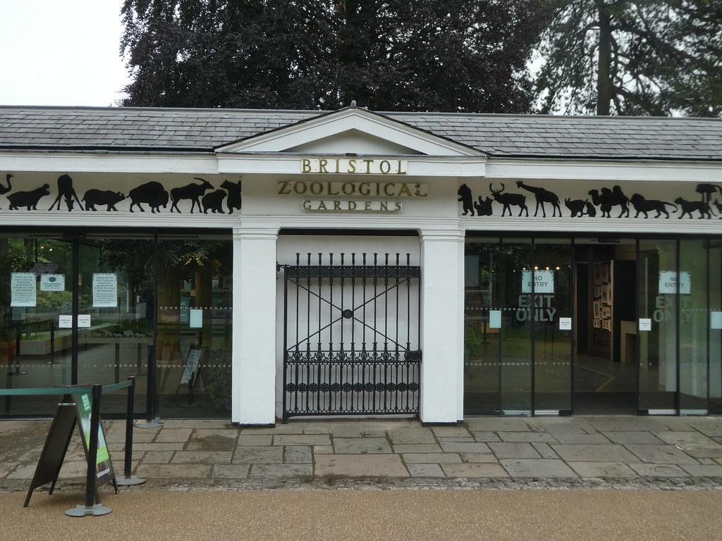 Entrance to Bristol Zoo