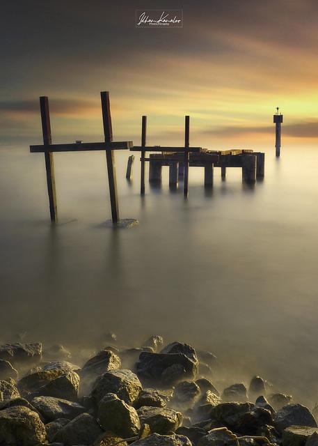 Pasir Panjang Port Dickson - Sunset