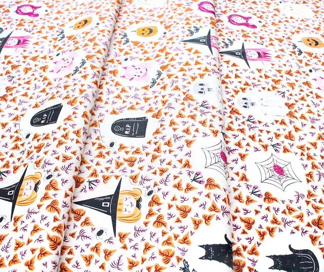 Art Gallery Fabrics Spooky'n Sweeter Boo Crew