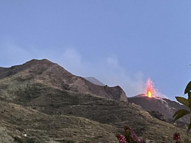 Feuer beim Vulkan!