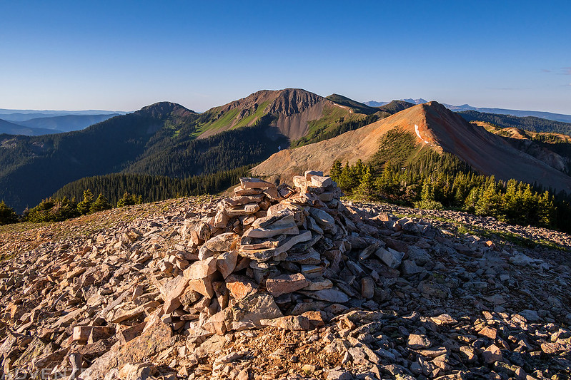 Johnny Bull Mountain Summit