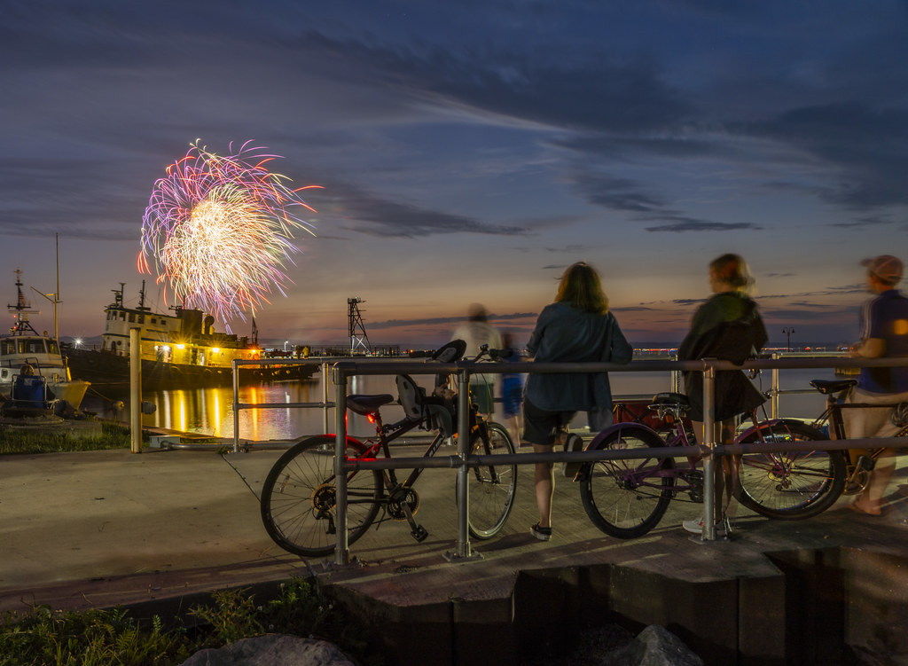Bicycles and Fireworks