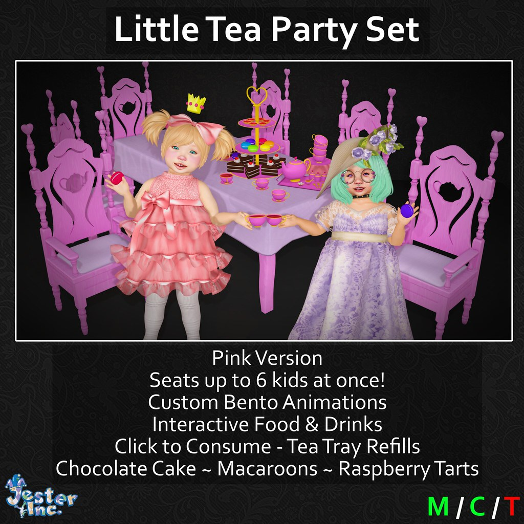 Presenting the new Interactive Tea Party Set from Jester Inc.