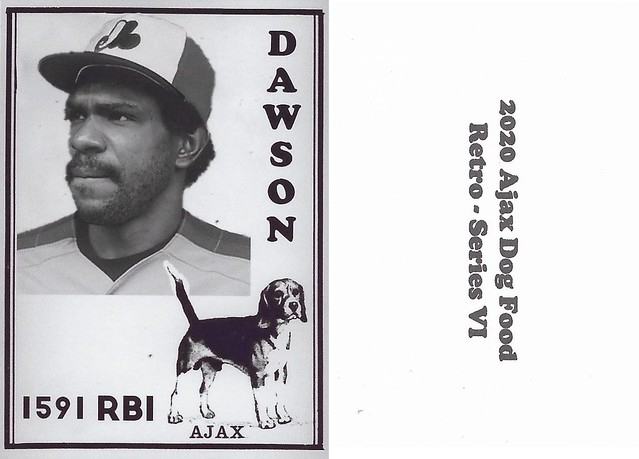 2020 Ajax Dog Food Retro Alt Back - Dawson, Andre