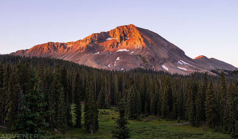 Hermosa Peak Sunrise