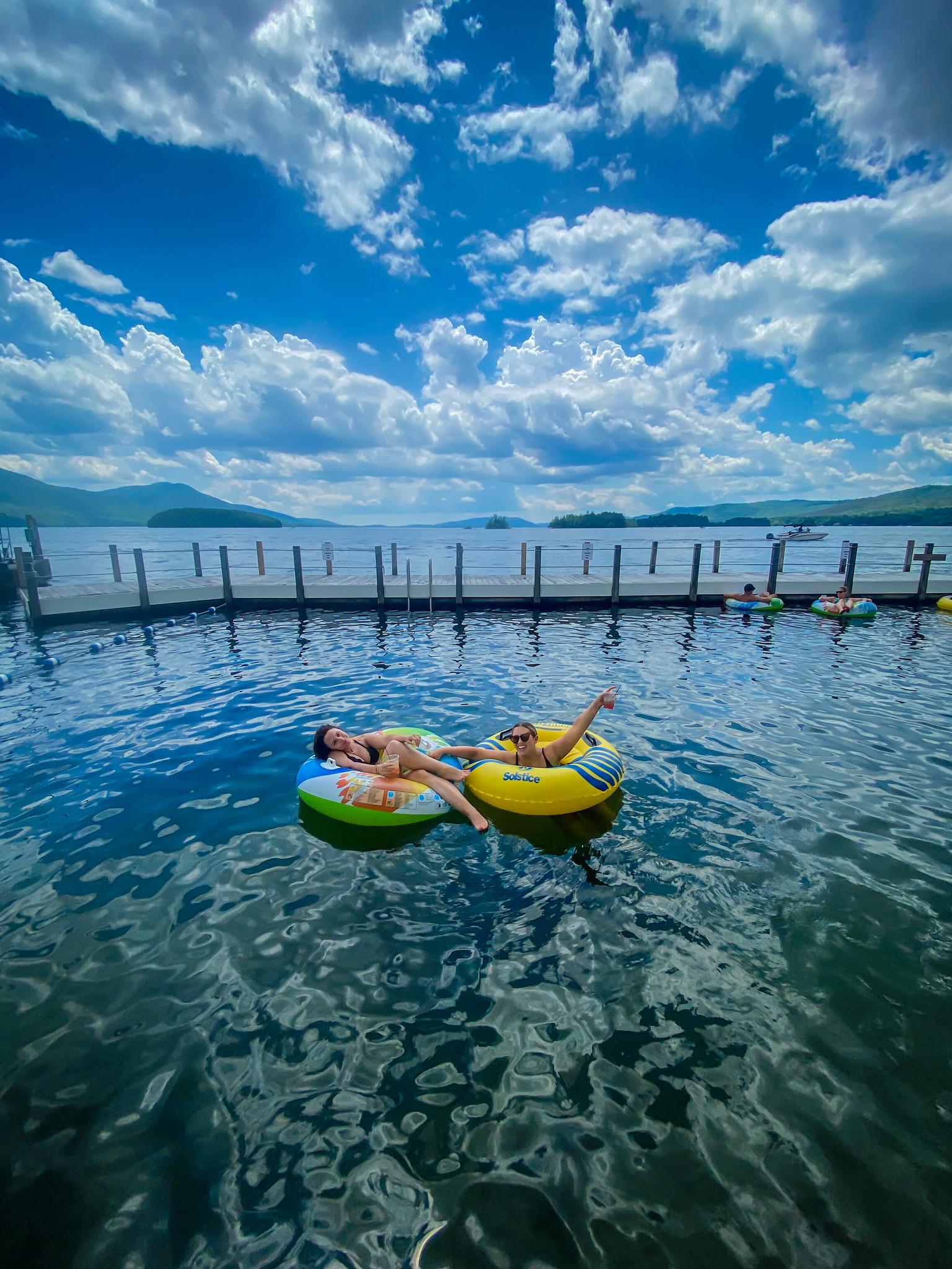 Lake George clear water